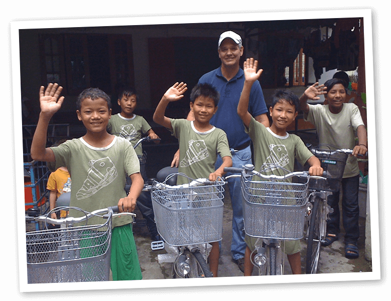 Destiny International - Bikes for orphanage