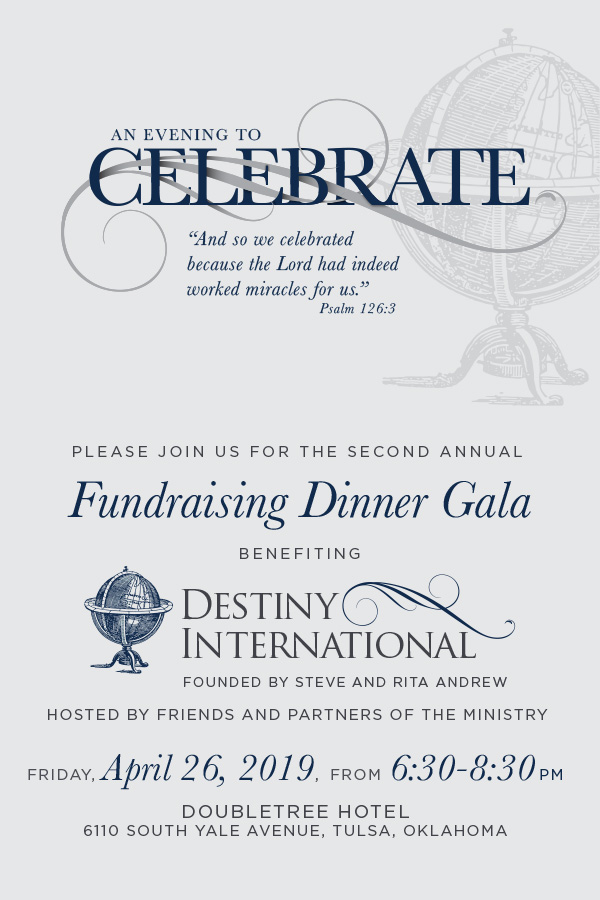 An Evening to Celebrate Invite